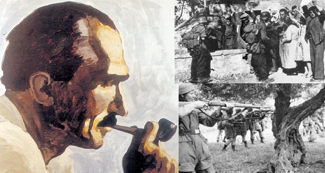 Η έκθεση του Καζαντζάκη για τις θηριωδίες των Ναζί και της Βέρμαχτ