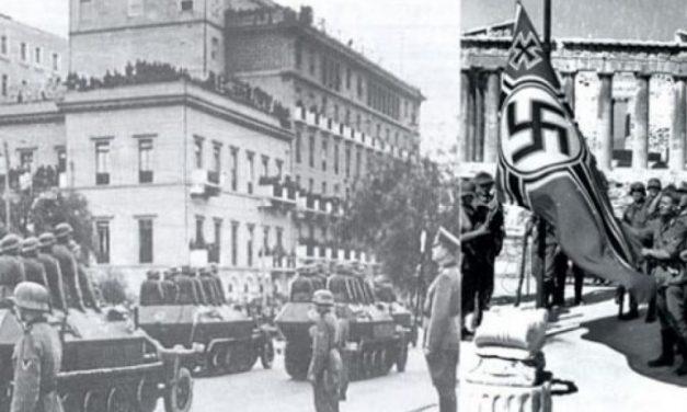 Σαν σήμερα: Το 1941 οι Γερμανοί κατακτητές εισέρχονται στην Αθήνα